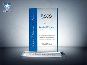 Sales Achievement Award Plaque