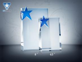 All Star Crystal Plaque