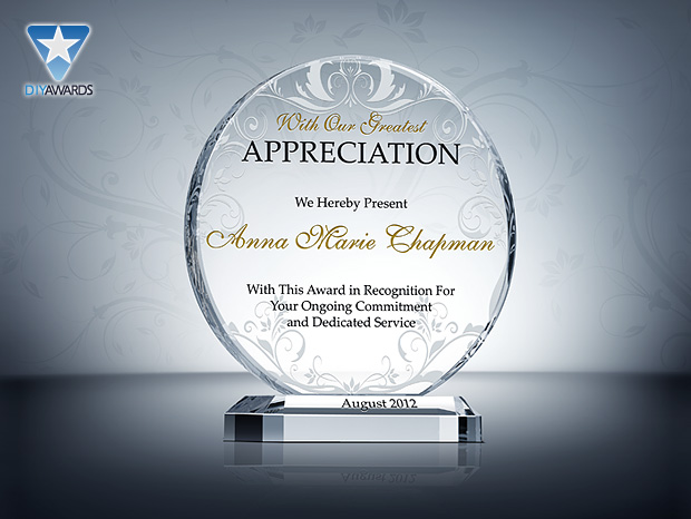 circle appreciation plaque product description the appreciation plaque ...